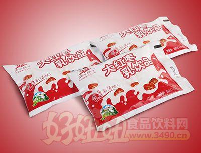 生生大红枣酸牛奶乳饮品