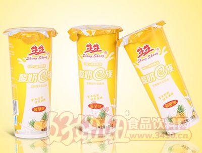生生酸奶E族菠萝味发酵酸牛奶饮品180g