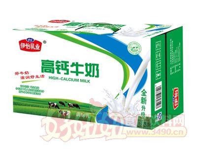 伊怡乳业高钙牛奶调制乳