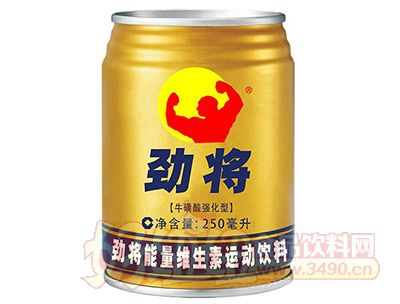 劲将能量维生素运动饮料250ml
