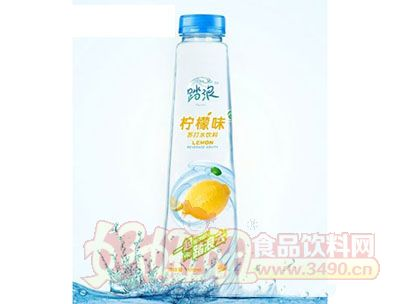 踏浪柠檬味苏打水饮料