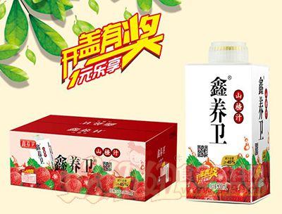 鑫养卫山楂汁饮料500ml×12盒