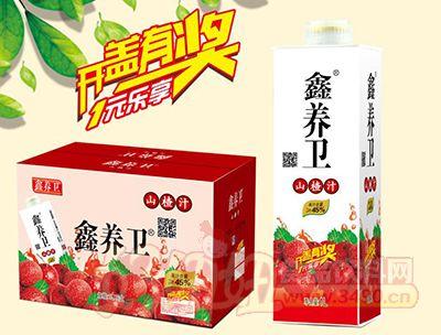 鑫养卫山楂汁饮料1l×6盒