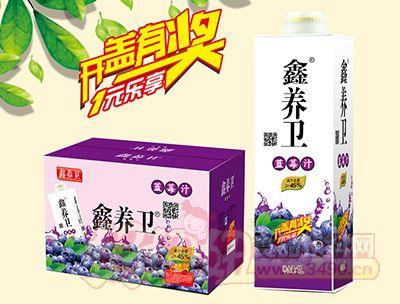 鑫养卫蓝莓汁1L×6盒