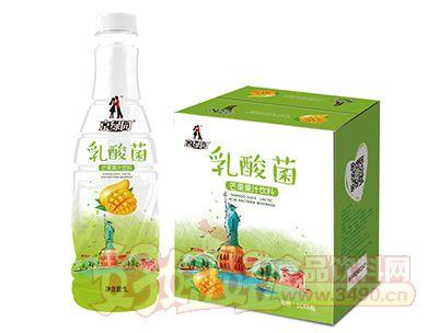 京绿园乳酸菌芒果汁饮料1L×6瓶