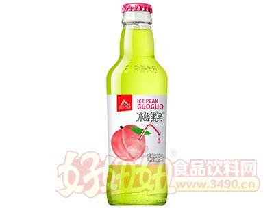 冰峰果果水蜜桃果汁汽水256ml