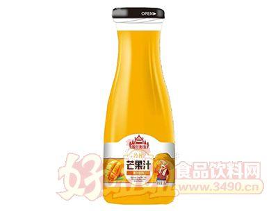 源汁醇浆冷榨冷榨芒果汁饮料1.5L