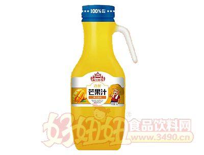 源汁醇浆冷榨芒果汁1.5L