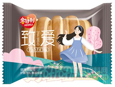 臻爱烘烤类面包巧克力味(散装称重)