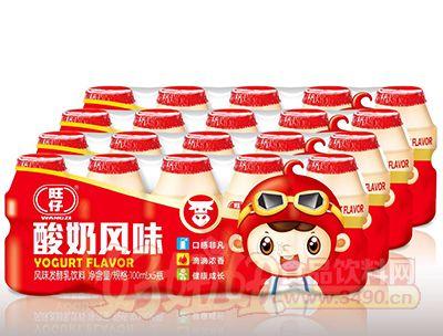 旺仔酸奶风味发酵乳饮料100ml×5瓶×5组