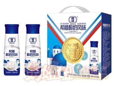 旺仔希腊酸奶风味发酵乳饮料300ml×10瓶
