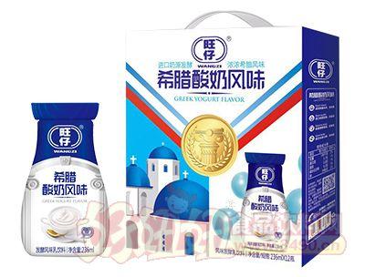 旺仔希腊酸奶风味发酵乳饮料236ml×12