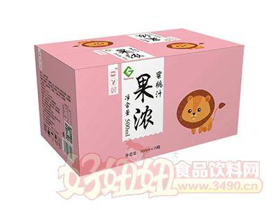 果浓蜜桃汁500mlx15瓶
