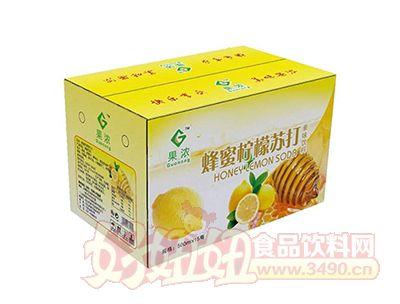 果浓蜂蜜柠檬苏打500mlx15瓶