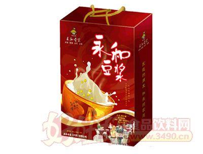盒装礼盒豆浆