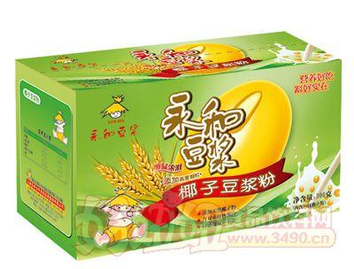 盒装椰子豆浆粉