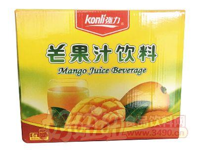 ��力芒果汁�料960ml×6瓶箱�b