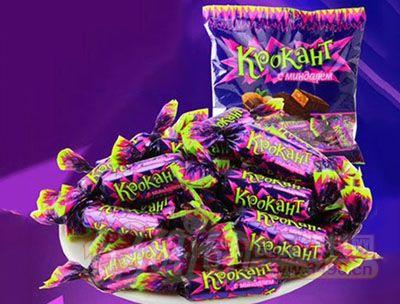 俄罗斯进口紫皮糖kdv品牌紫皮酥糖hk547进口糖果零食婚庆巧克力糖图片