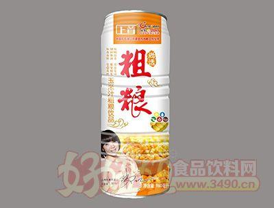 上首玉米汁粗粮饮品960ml