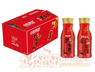 中图果园红枣黑木耳植物性果蔬饮品350ml×15瓶
