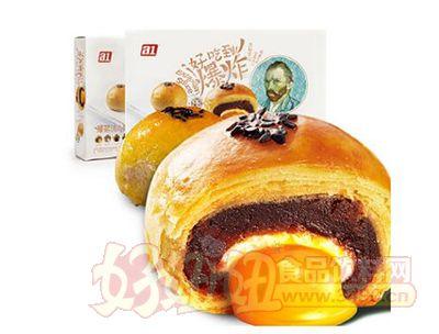 A1手工蛋黄酥50gX6枚每盒4层夹心爆浆流心酥传统糕点零食