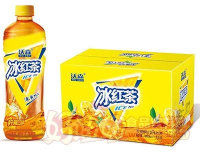 沃森冰红茶柠檬味红茶味饮料600ml×15瓶