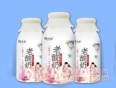 张小七老酸奶350ml原味