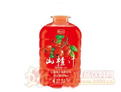 张小七山楂汁果肉饮料350ml