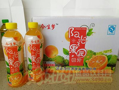 今生梦阳光果园500mlX15
