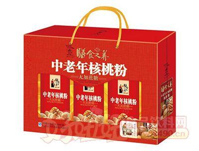 膳食之养中老年核桃粉礼盒装