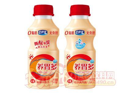 珍舒味养胃多乳酸菌饮品草莓味红盖340ml