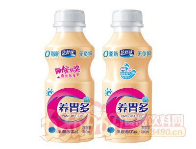 珍舒味养胃多乳酸菌饮品原味白盖340ml