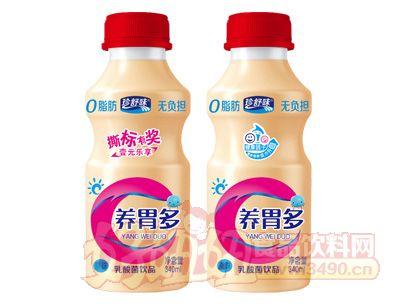 珍舒味养胃多乳酸菌饮品原味红盖340ml
