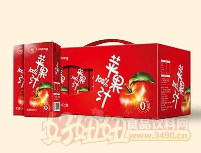 绿梦苹果汁250mlx12盒