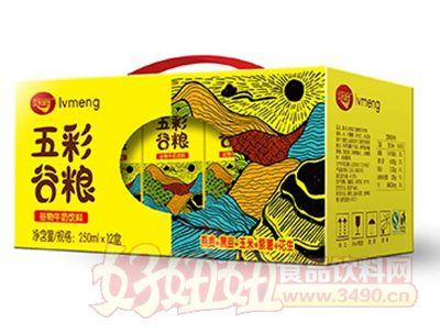 绿梦五彩谷粮谷物牛奶饮料250mlx12盒手提箱