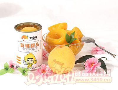 大萌果黄桃罐头425g×12