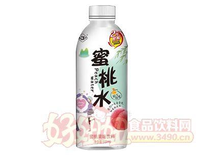 森宇蜜桃水果味饮料500ml