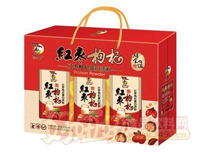 南方人家红枣枸杞蛋白质粉礼盒