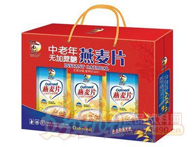 南方人家中老年无蔗糖燕麦片礼盒装