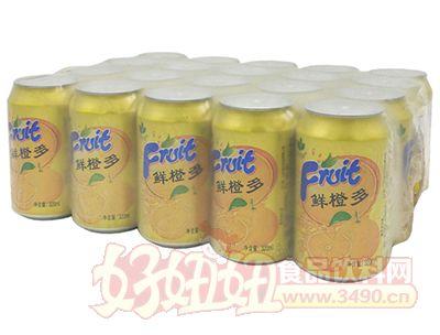 今有原鲜橙多碳酸饮料320ml×20罐