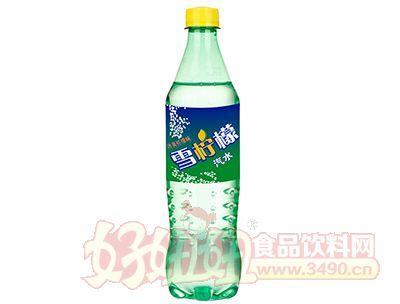 冰爽柠檬味雪柠檬汽水500ml
