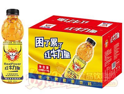 红��量牛磺酸增强型维生素能量饮料600ml×15瓶
