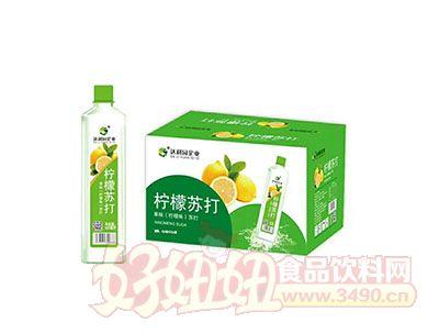 柠檬苏打果味420ml(柠檬味)