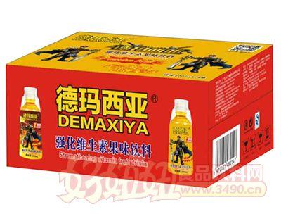 德玛西亚强化维生素果味饮料300ml×24瓶