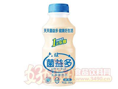 六旺菌益多乳酸菌饮品340ml瓶
