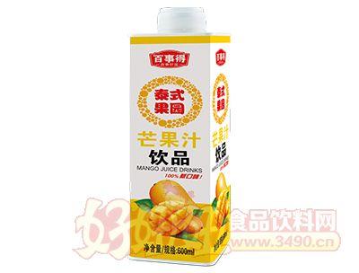 百事得泰式果园芒果汁饮品600ml