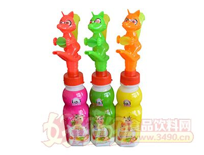 奥特英雄小狐狸口哨玩具奶饮品200mlx24瓶(儿童玩具)