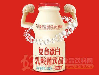 低糖型复合蛋白乳酸菌饮品108ml