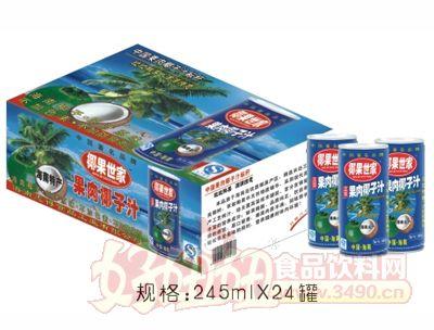 椰果世家-245MLX24罐