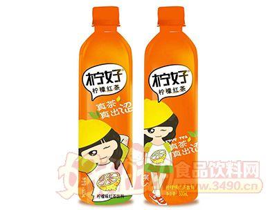 柠好柠檬红茶饮料500ml